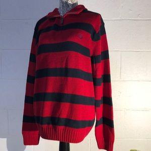 Chaps half zip sweater